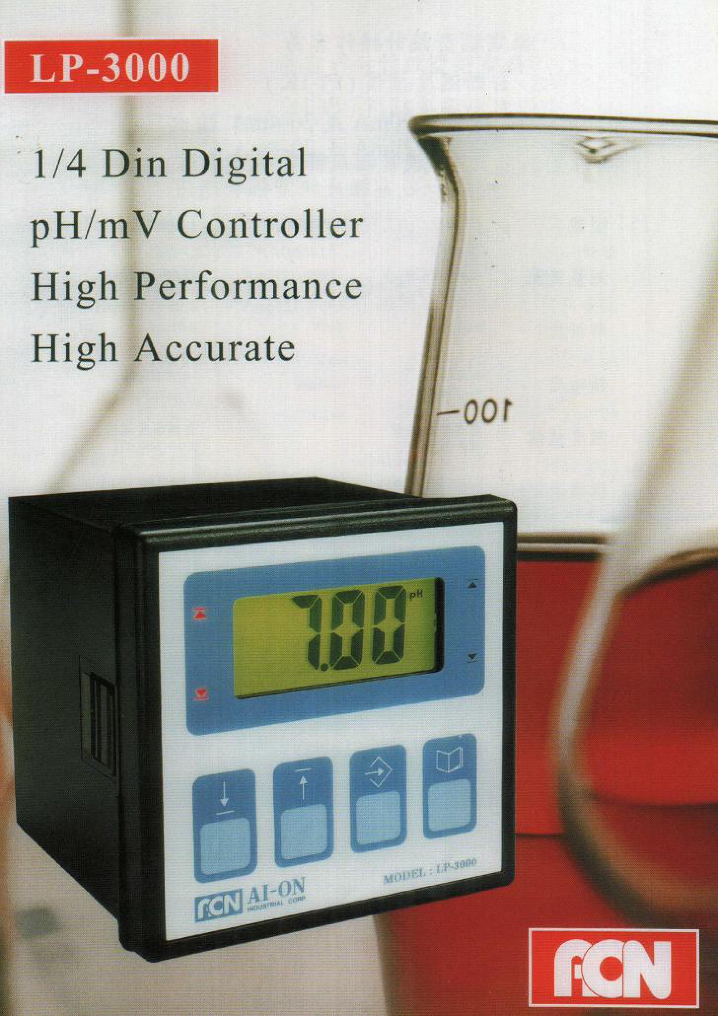 微電腦酸鹼控制器LP-3000(型錄)-1