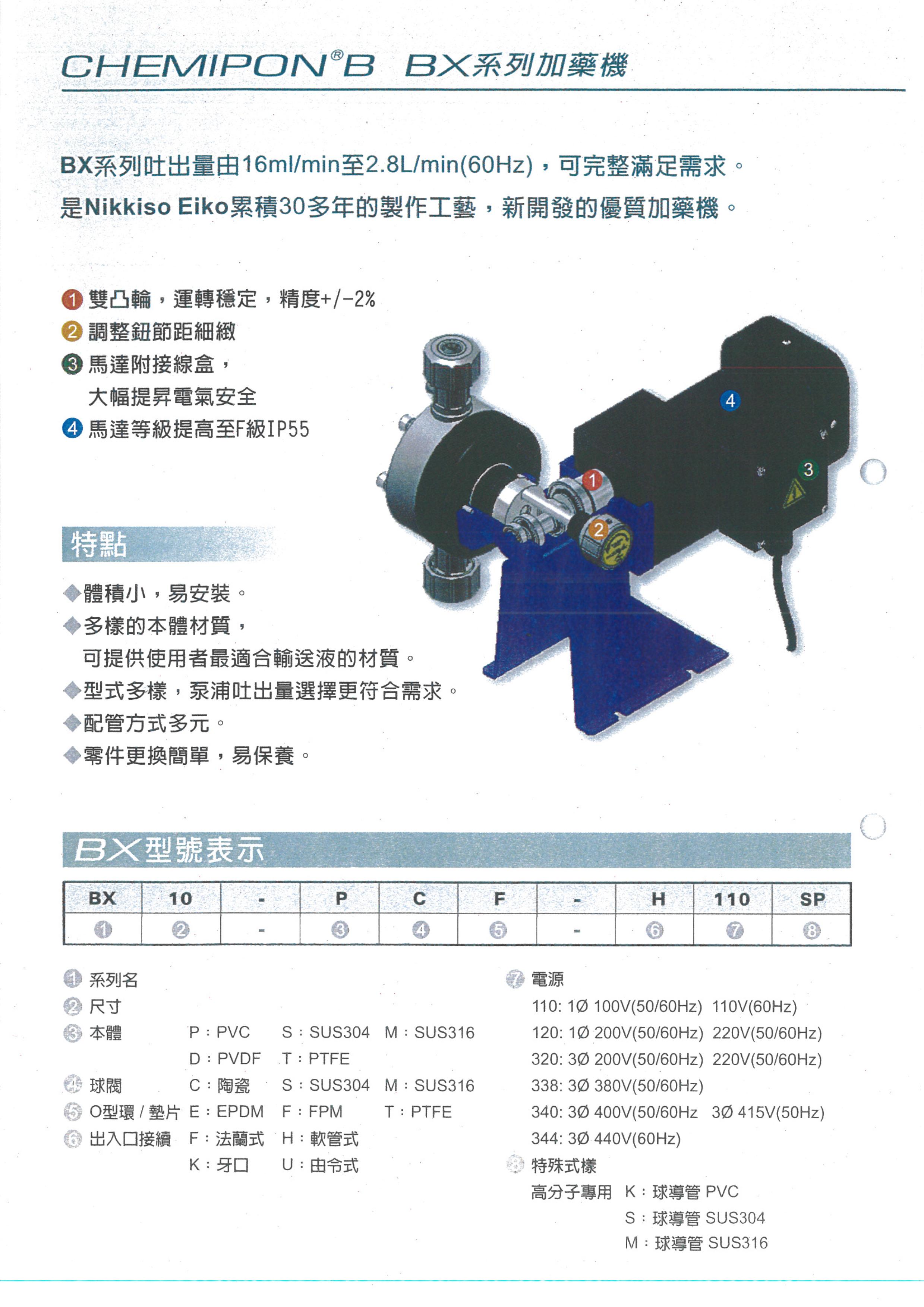 BX加藥機型錄-2