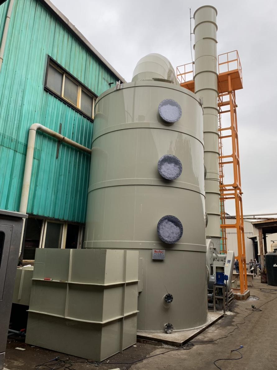 鹽酸酸洗槽廢氣洗滌塔